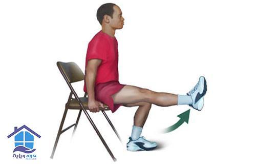 تقویت عضلهی چهار سر ران