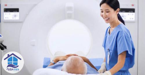MRI بیمار فیزیوتراپی
