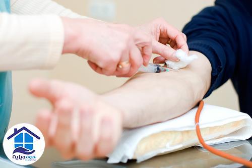 آزمایش خون در منزل