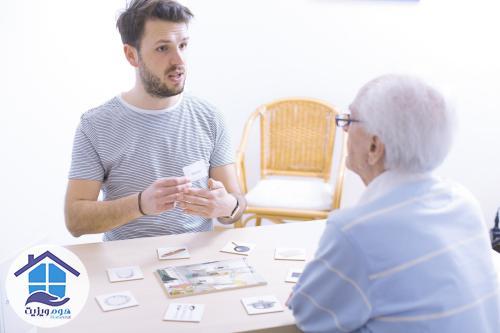 گفتاردرمانی بزرگسالان در منزل