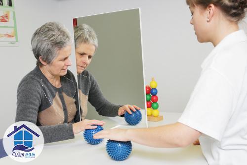 آینه درمانی در سکته مغزی